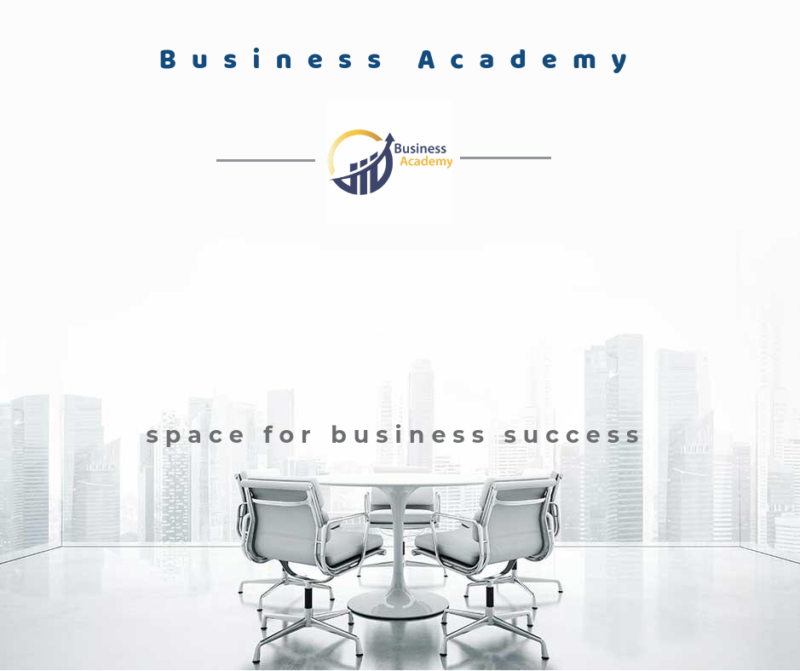 Business Academy – Space for business success